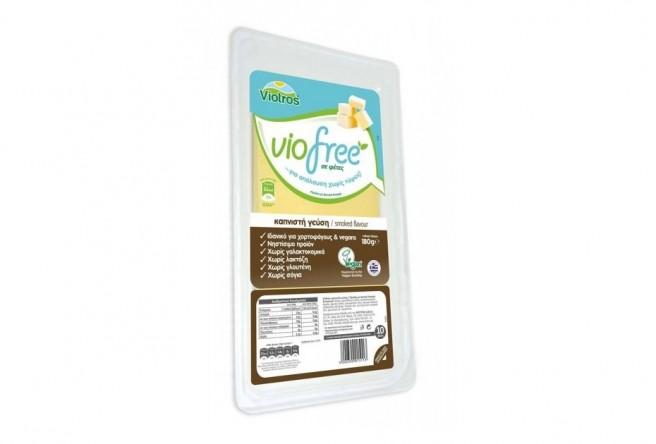Φυτικό Προϊόν Καπνιστή σε Φέτες 180γρ. Viofree