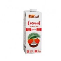 ΒΙΟ Ρόφημα Καρύδας Φυσικό Χωρίς Ζάχαρη ECOMIL 1lt