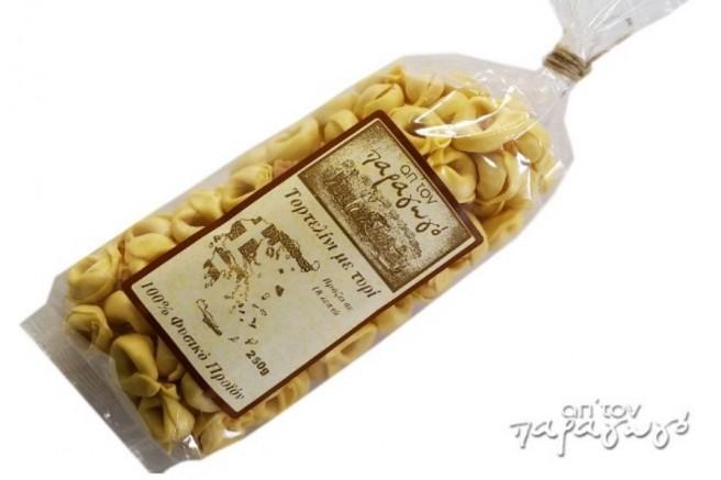 Τορτελίνι με Τυρί Κορίνθου Απ' Τον Παραγωγό 250γρ.