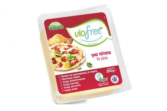 Φυτικό Προϊόν Block για Pizza 200γρ. Viofree