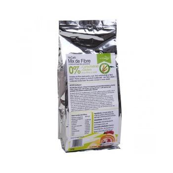 Μείγμα Άλευρων με Φυτικές Ίνες Ιδανικό για Ψήσιμο Mix1 250γρ. NOCARB