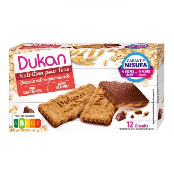 Μπισκότα Βρώμης με Επικάλυψη Σοκολάτας 200γρ. Dukan
