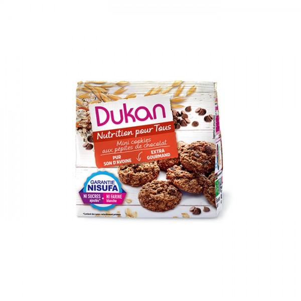 Μίνι Cookies Βρώμης με Κομμάτια Σοκολάτας 100γρ. Dukan