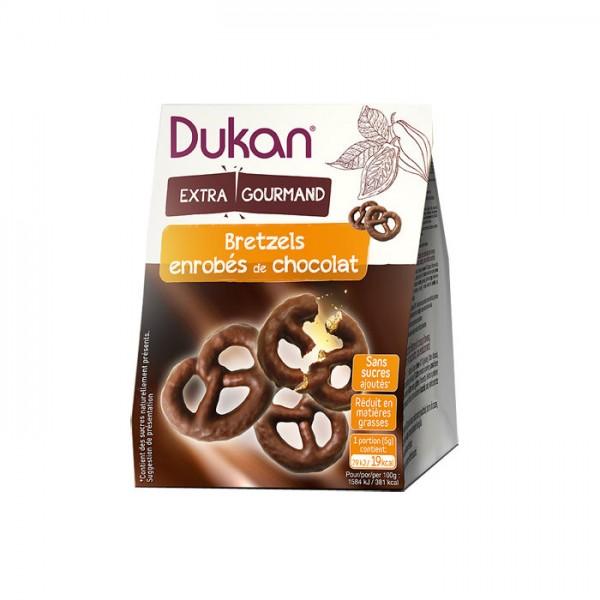 Pretzels Βρώμης με Επικάλυψη Σοκολάτας 100γρ. Dukan