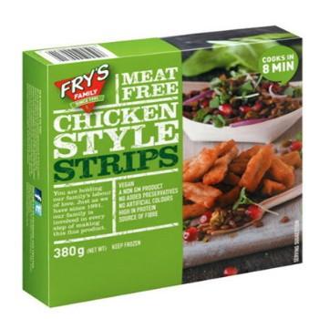 Vegan Κοτόπουλο Λωρίδες Σόγιας Fry's 380γρ.
