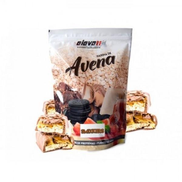 Πλιγούρι (Αλεύρι) Bρώμης με Γεύση Σνίκερς Eleven Fit 1kg