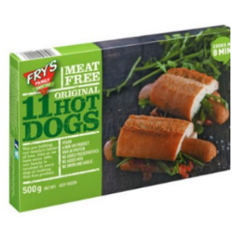 Vegan Hot Dog Σόγιας Fry's 360γρ.
