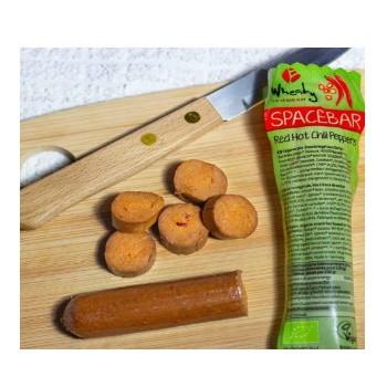 ΒΙΟ Vegan Λουκάνικο Red Hot Chilli Peppers Spacebar 40γρ. Wheaty