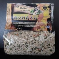 Mix Βρώμης για Snacks 250γρ. Ανθήλη