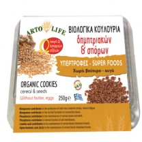 Βιολογικό Κουλούρι Δημητριακών και Σπόρων Artolife