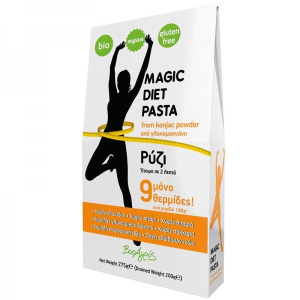 ΒΙΟ Ρύζι Konjac από Γλυκομαννάνη Magic Diet Pasta 275γρ. Βιοαγρός