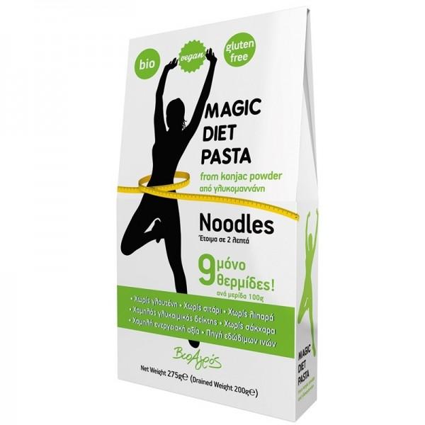 ΒΙΟ Noodles Konjac από Γλυκομαννάνη Magic Diet Pasta 275γρ. Βιοαγρός