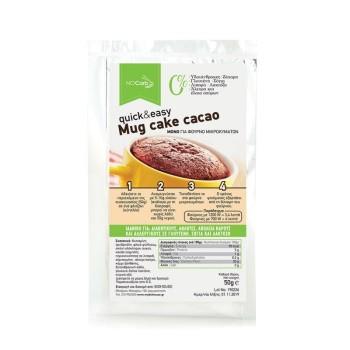 Mug cake quick & easy cacao NoCarb 50g