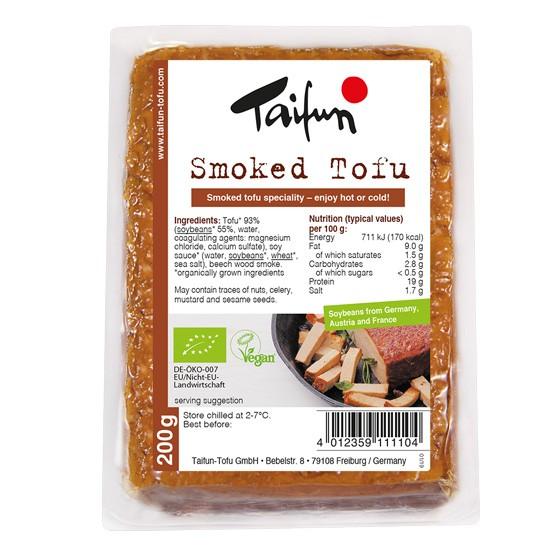ΒΙΟ Τόφου Καπνιστό 200γρ. TaiFun