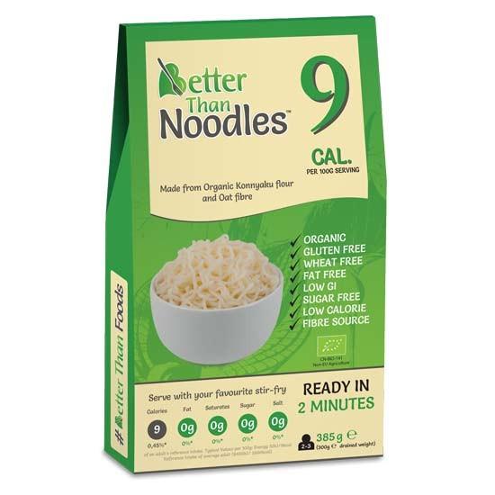 ΒΙΟ Better Than Noodles Konjac No Drain Χωρίς Γλουτένη 385γρ.