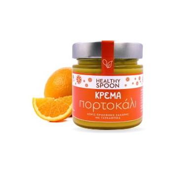 Κρέμα Πορτοκάλι Χωρίς Ζάχαρη 250γρ. Healthy Spoon