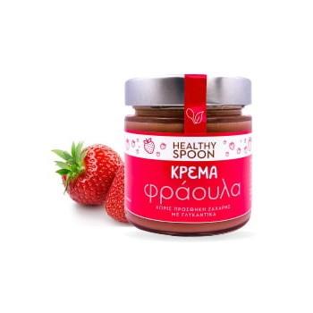 Κρέμα Φράουλα Χωρίς Ζάχαρη 250γρ. Healthy Spoon