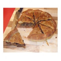 Χωριάτικη Χειροποίητη Μανιταρόπιτα Θεσσαλίας Νηστίσιμη 1 κιλό