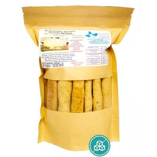 Κριτσίνι με άρωμα γραβιέρας 200γρ. Biodiet