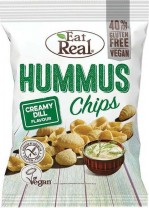 Eat Real Hummus Creamy Dill 135γρ.