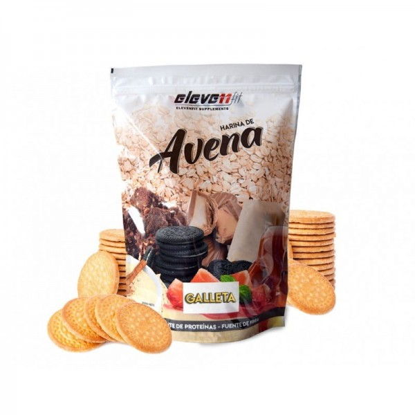 Πλιγούρι (Αλεύρι) Bρώμης με Γεύση Μπισκότο Eleven Fit 1kg