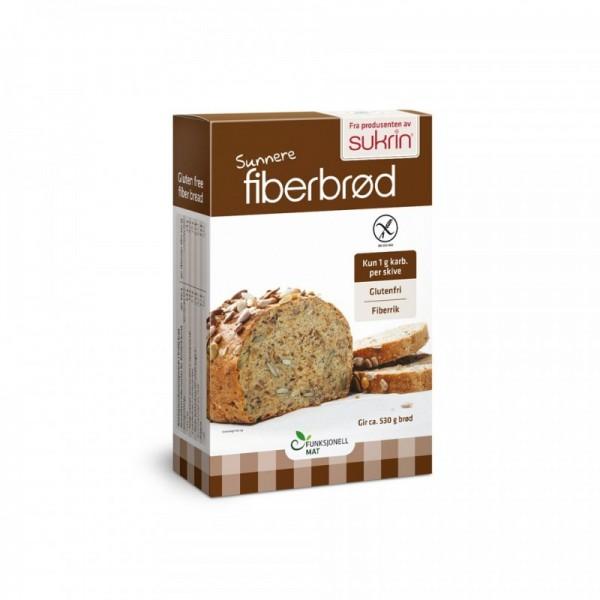 Μείγμα ψωμιού χωρίς γλουτένη fiber bread 250γρ. Sukrin