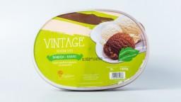 Παγωτό Με Στέβια Βανίλια Κακάο 2lt Vintage