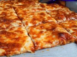 Πίτσα Μαργαρίτα Τετράγωνη 1000kg Παραδοσιακά Ζυμώματα