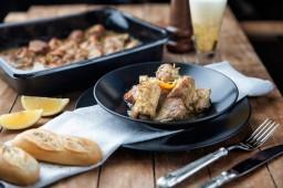Χοιρινό με Σάλτσα Μουστάρδας και Λεμονιού 330γρ. Special Greatings
